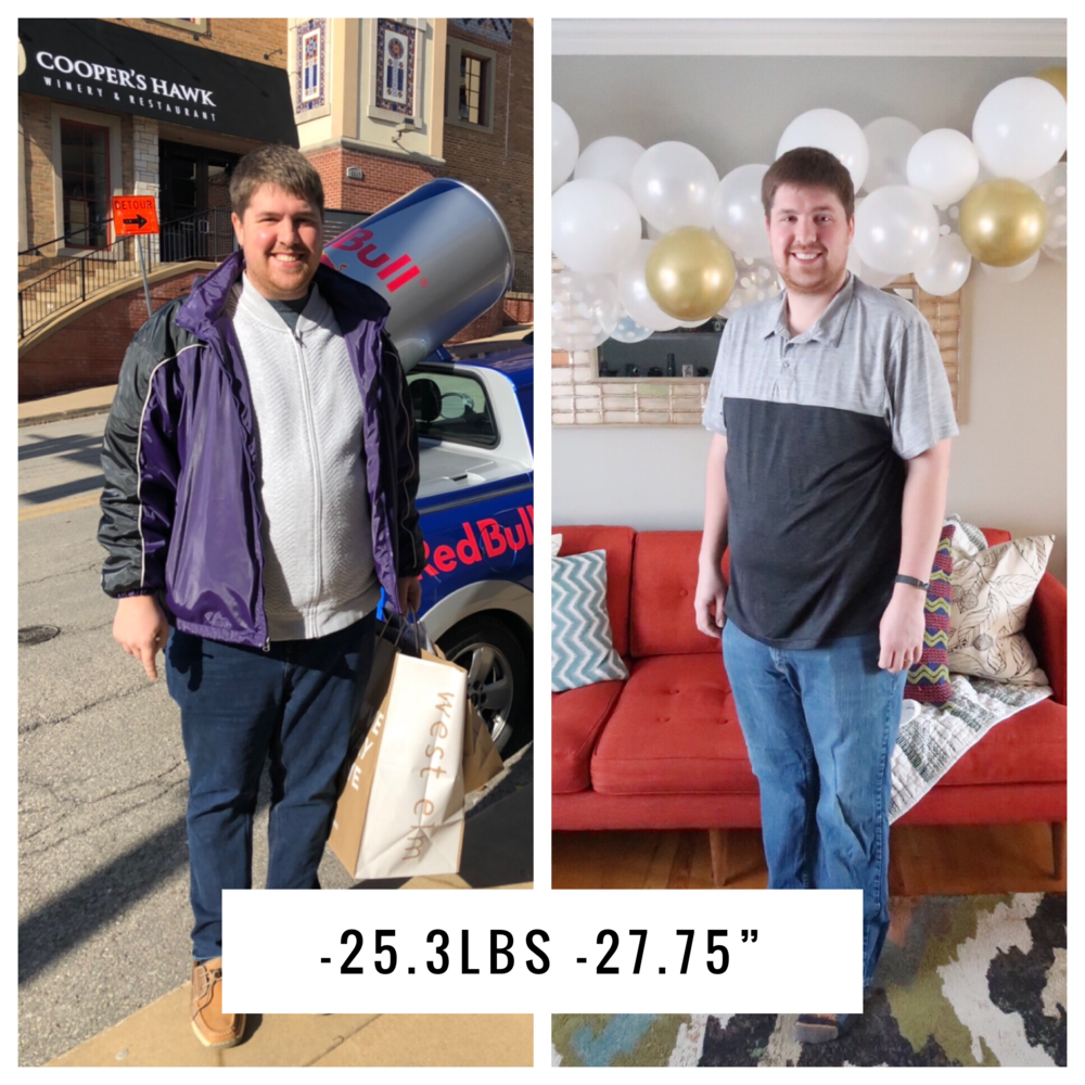 Twenty Five Pound Weight Loss in 3 Months - High Veggie Diet, Lo Carb, Almost Paleo - Jared Pumphrey  |  SimplyHomeKC.com