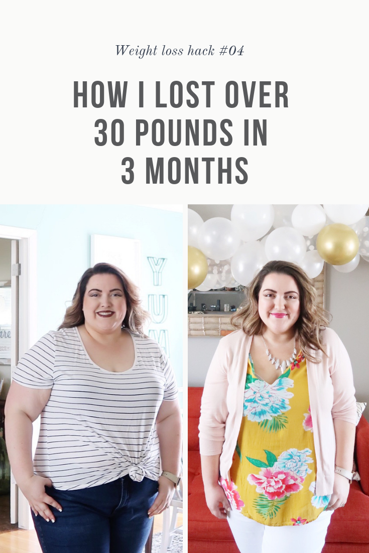 How I Lost Over 30 Pounds in 3 Months  |  Bonus Tip: How to combat water retention quickly  |  SimplyHomeKC.com