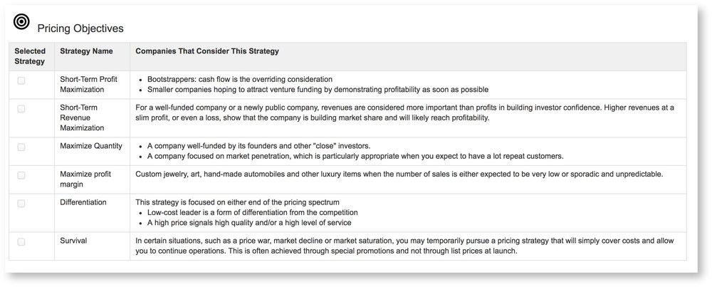 Pricing createigo competitor price positions malvernweather Gallery