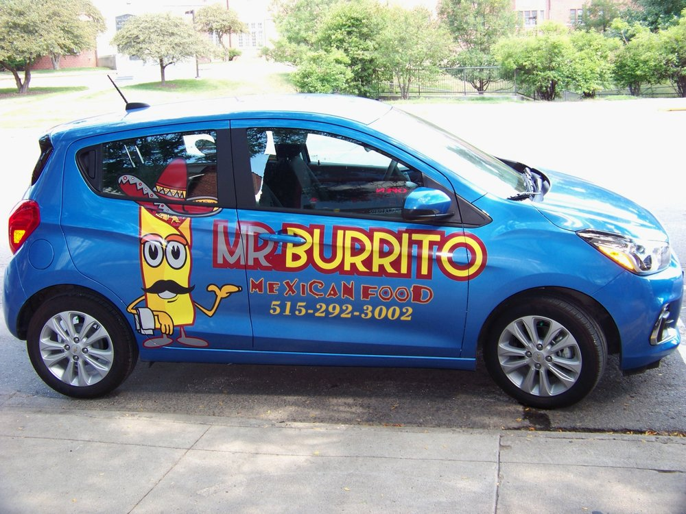 The burrito delivering machine awaits your order