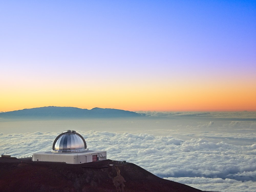 The Observatories at Mauna Kea, Hawaii