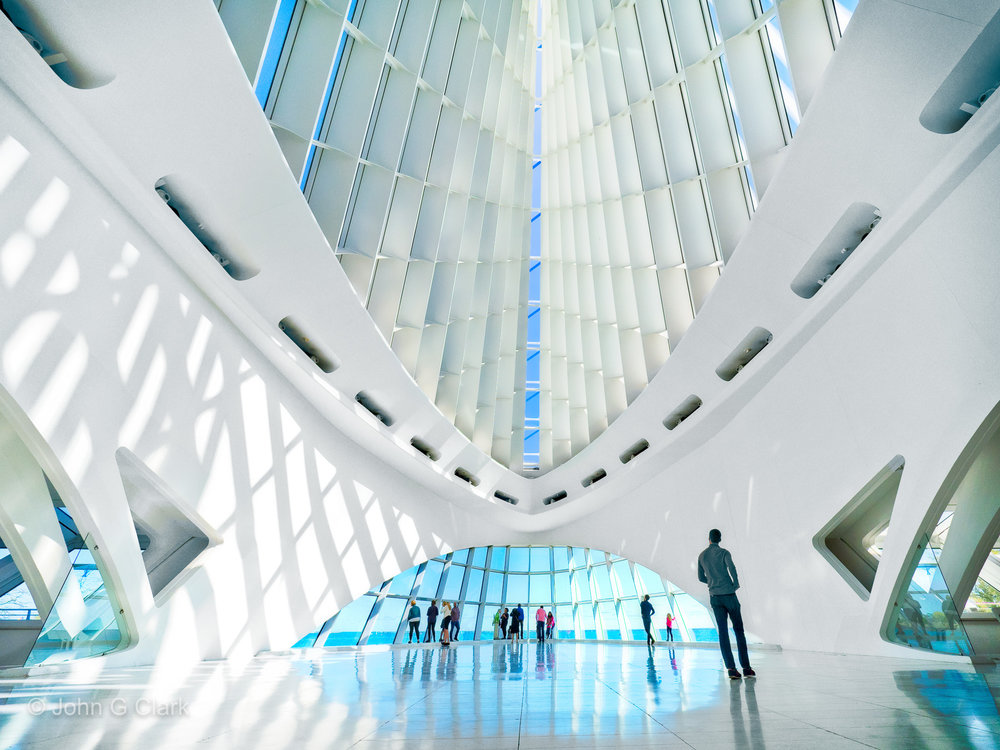 The futuristic Windhover Hall was the winning photo in the Trover #Perspectives contest