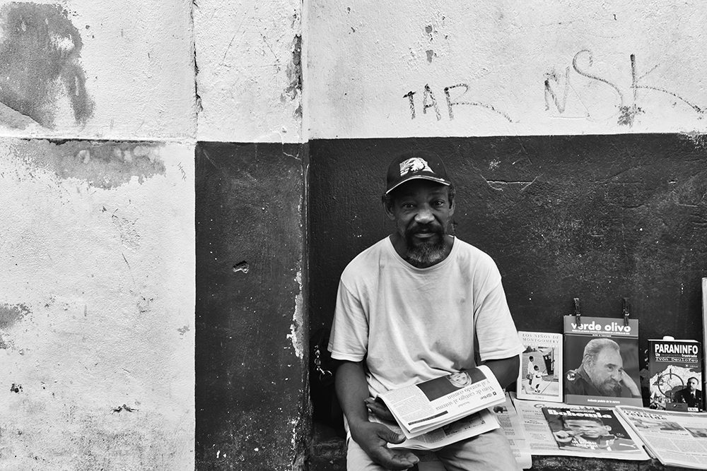 The magazine seller b&w.jpg
