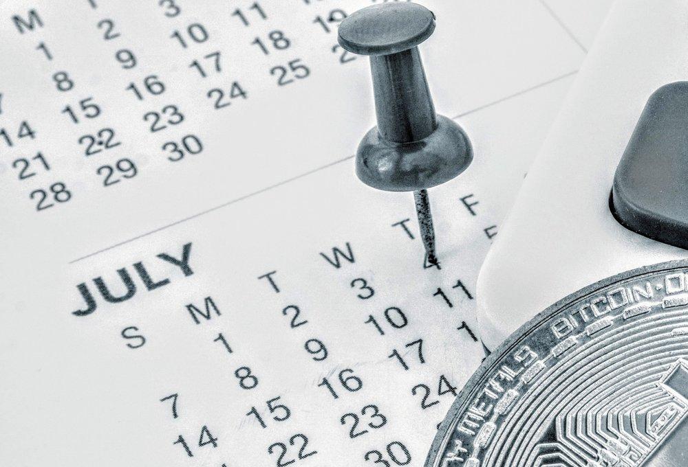 Crypto Catalyst calendar -