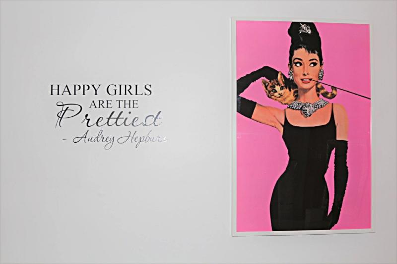 Audrey Hepburn in the Bridal Suite