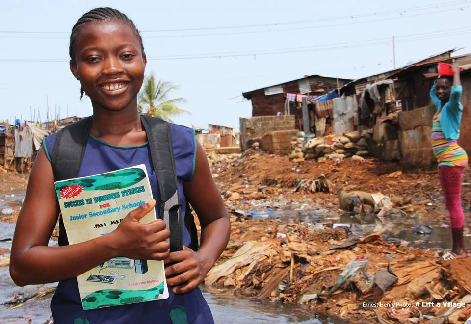Kadiatu Kargbo is now the Lift a Village Ambassador of the From Slums To School Campaign.