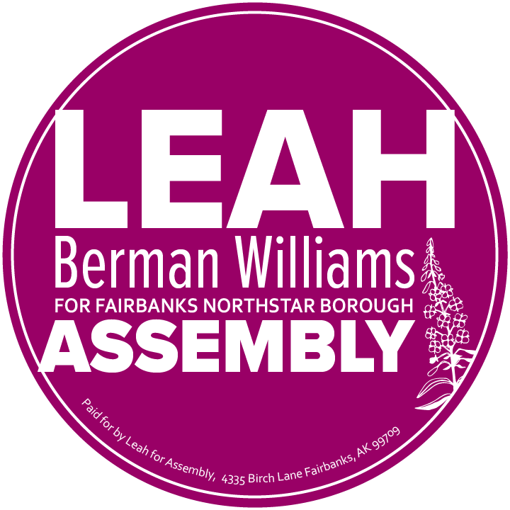 Leah Berman Williams For Assembly