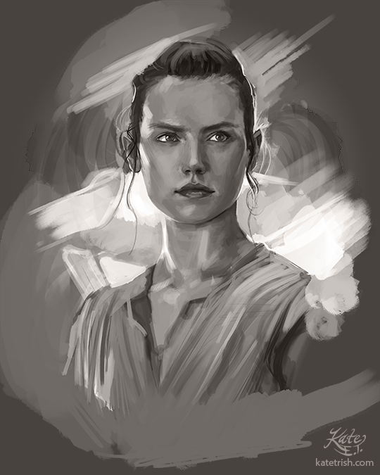Daisy Ridley as Rey (Star Wars: The Force Awakens)