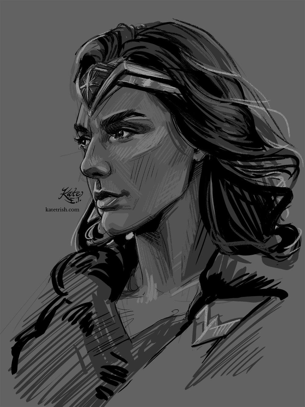 Gal Gadot as Wonder Woman (Wonder Woman, film)