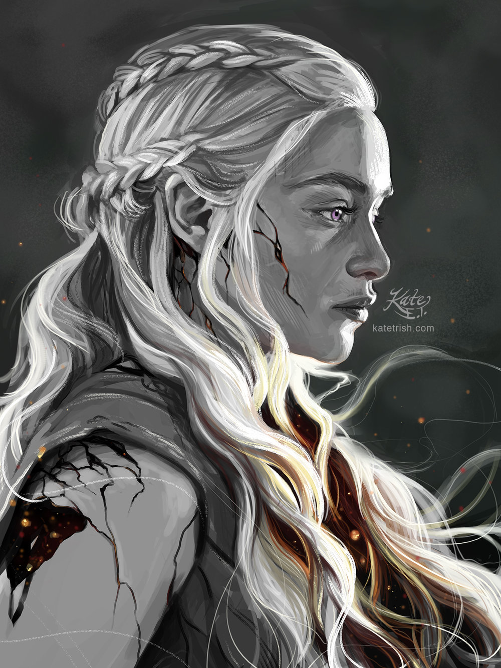 A Song of Fire: Daenerys Targaryen (Game of Thrones)