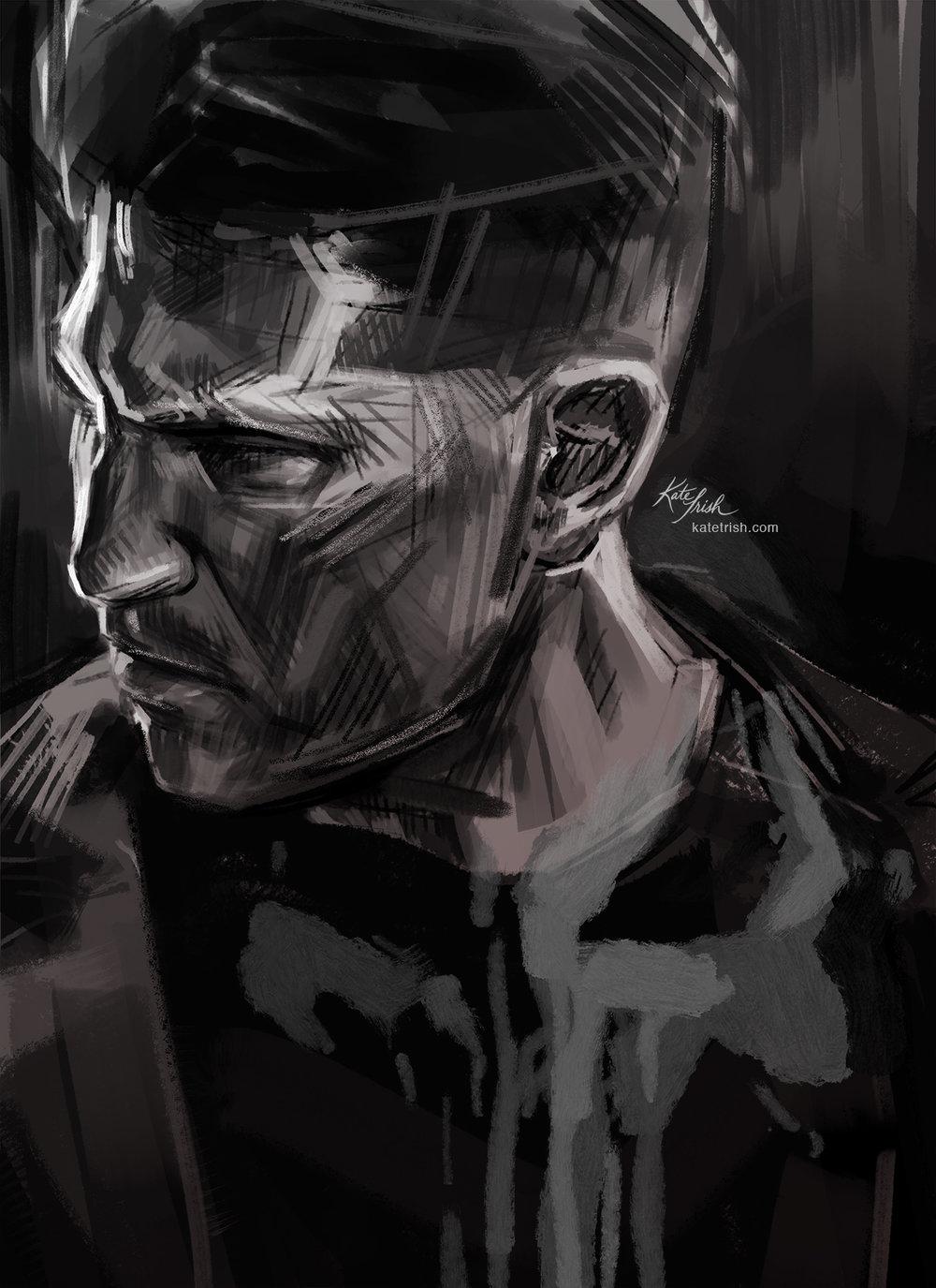 Jon Bernthal as Frank Castle (The Punisher, Netflix)