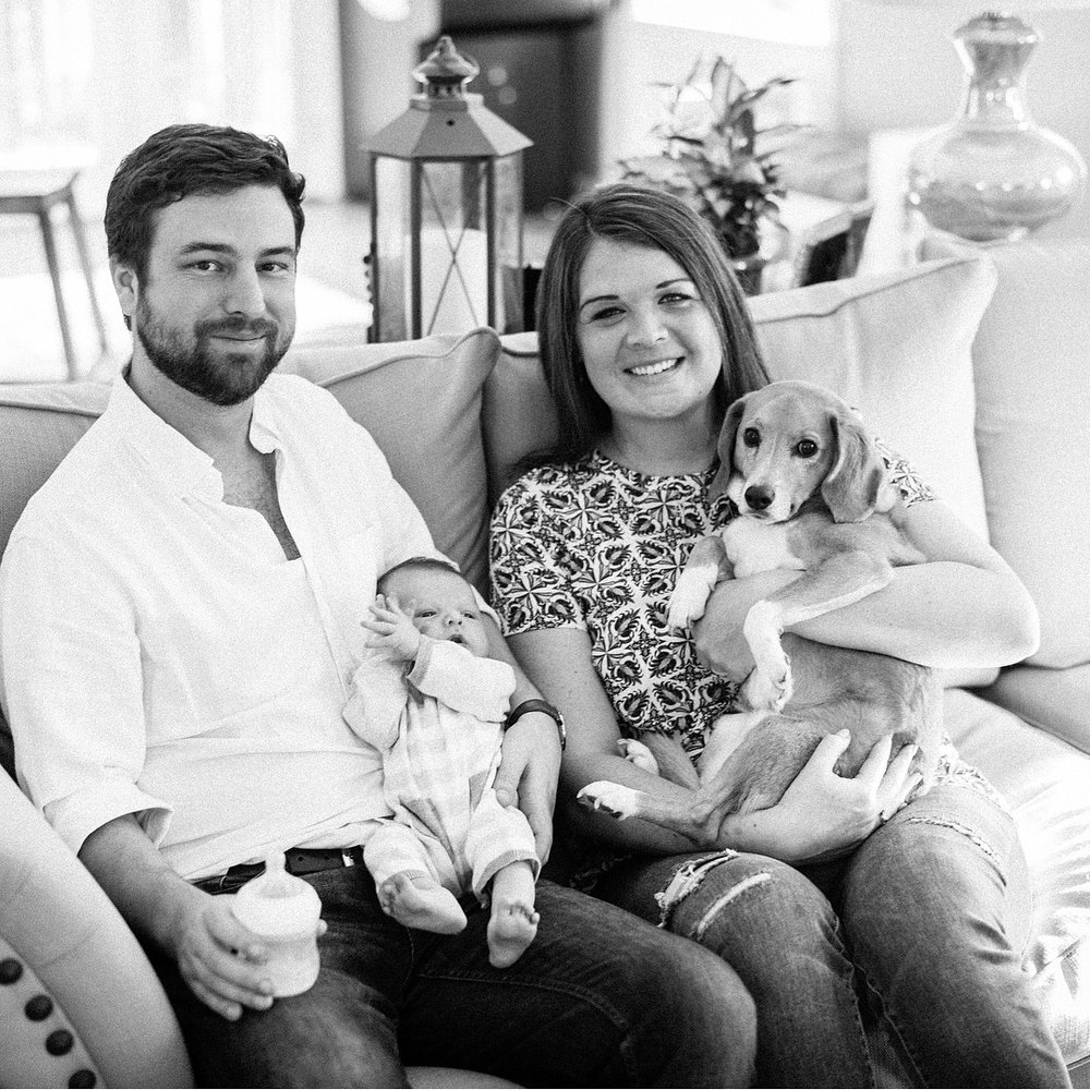Courtney, Phil & Baby Quinn - January 2018:When my husband and I found out we were pregnant, we started to research options for support during birth. We were both hesitant about using a doula and wondered if it was really necessary until we met Hunter. She guided us through every detail of what the birth process would look like and helped me to develop a manageable and comfortable plan for labor and delivery. To say my husband and I were clueless when we started this process is putting it mildly. Hunter educated us on everything we needed to know and when the big day came to have our baby, Hunter was by our side for almost 30 hours. She offered endless support throughout the process and calmed our anxieties as we journeyed through labor. Hunter is warm, kind, and welcoming. I felt immediately comfortable with her and I'm not sure I would have had such a positive birth experience without her. For anyone on the fence about using a doula - especially for your first birth - take it from us and use Hunter. You won't regret it.