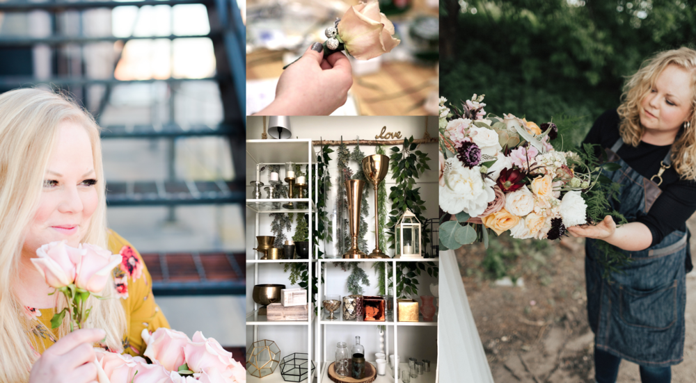 KC wedding florist heart + soul design process