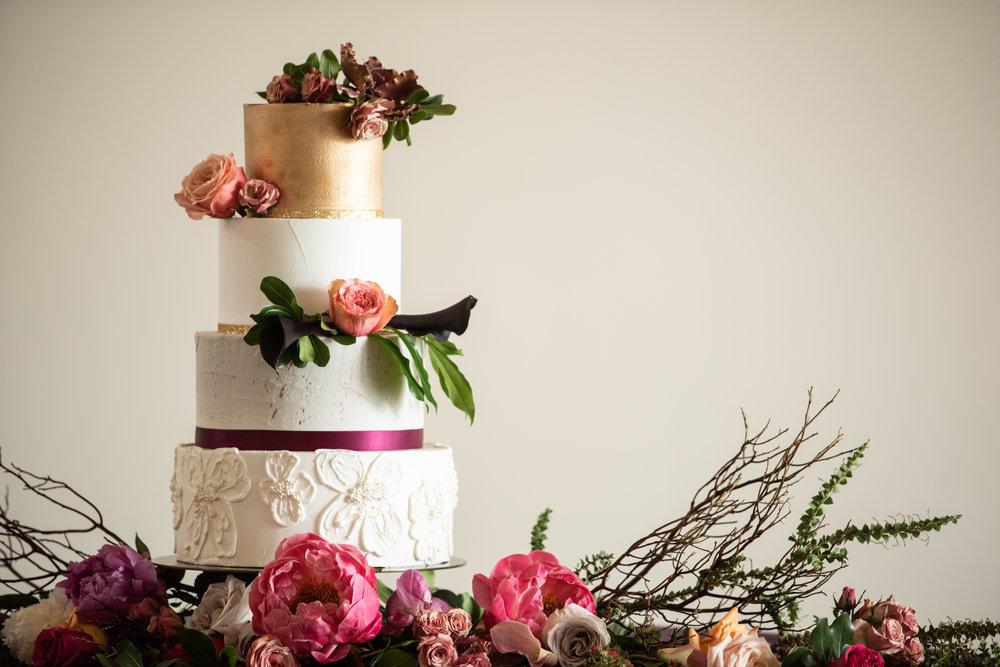 kc wedding florist cake flowers