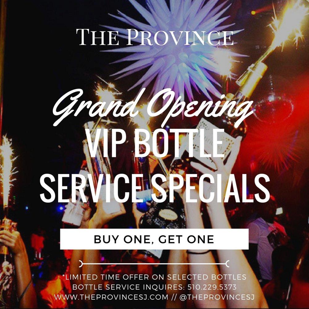Bottle Servince Inquiries: 510.229.5373 |408) 796-1699