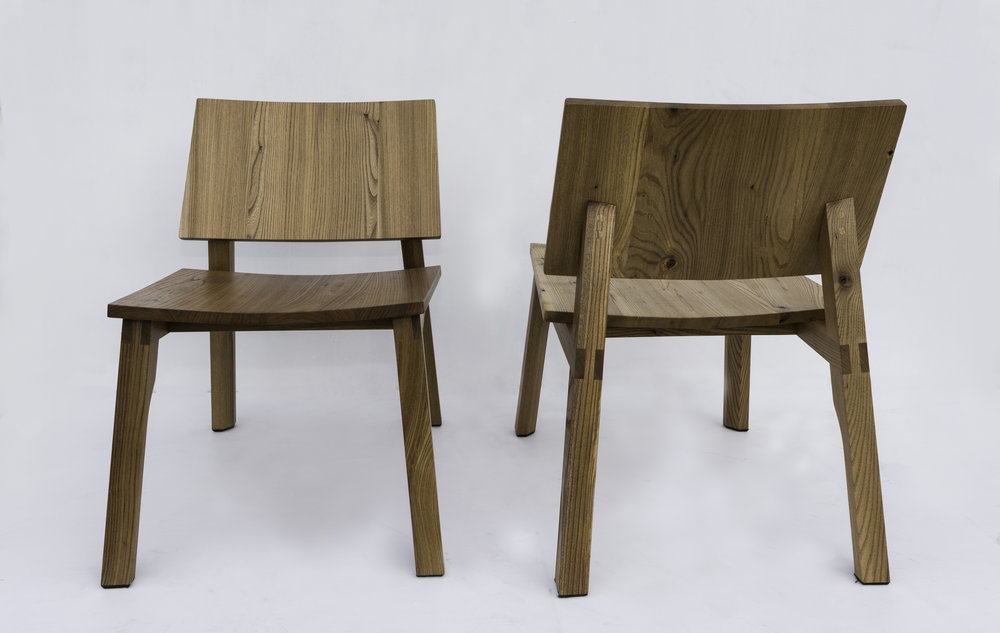 D3 Lounge Chair in Elm
