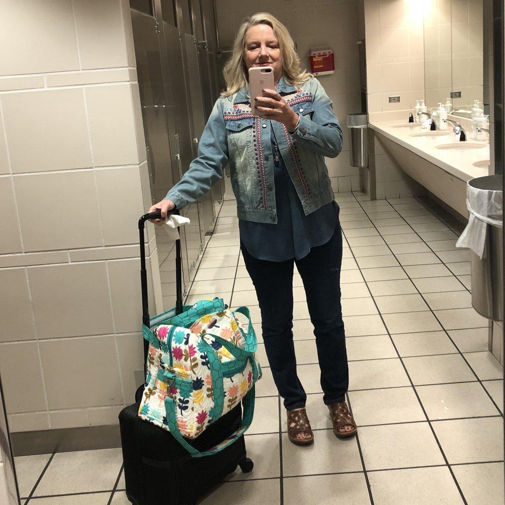 Gotta love bathroom selfies ;-))