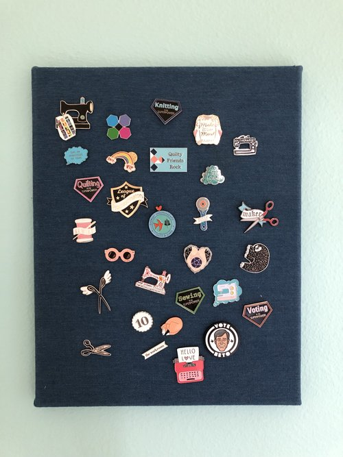 New Enamel Pin Display — Rene' Creates