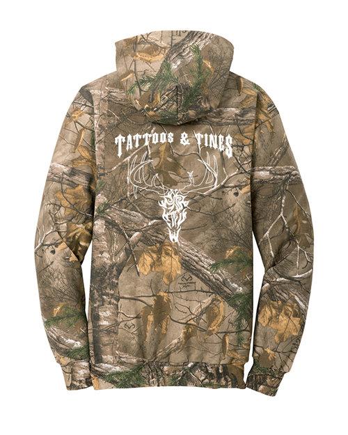 T T  Realtree Camo Hooded Sweatshirt (D1 Neutral) — Diamond Graphics ... 3ff9a5c4550