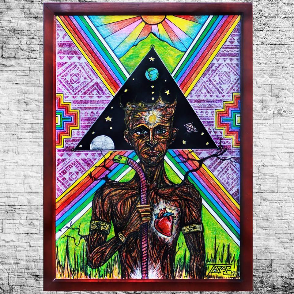 Topaz - Otavalo, Ecuador        Artes Plásticas & Ilustración, pinturas con cera y marcadores]      Call +593 99 726 4654  @Topasjuantsartista   juantopas@hotmail.es    topas.art