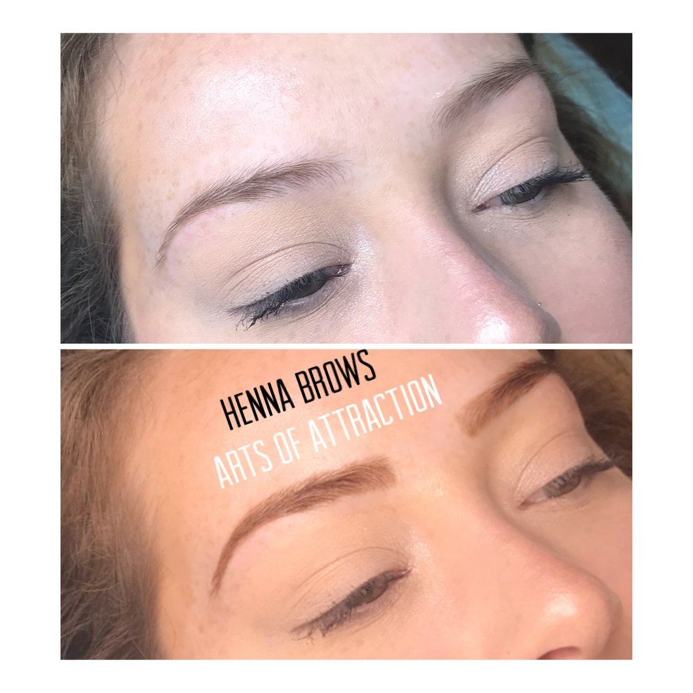 Henna Eyebrows The Hottest Trend Arts Of Attraction