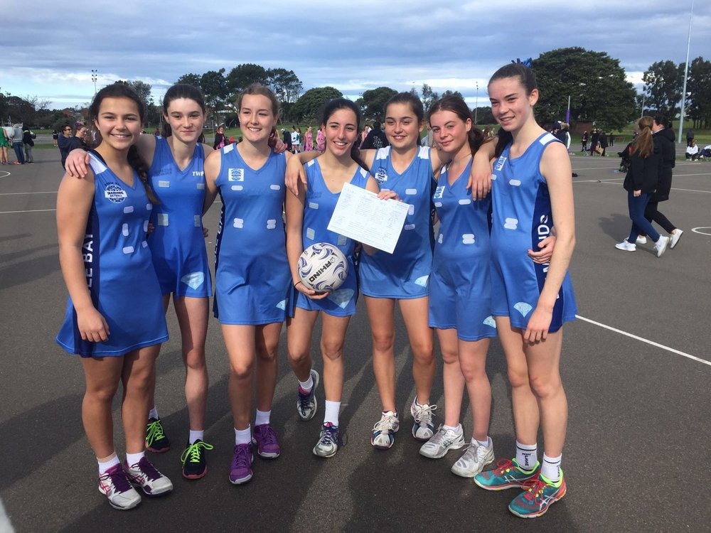 Double Bay Diamond's Netball