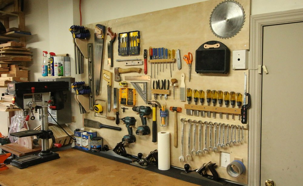 My Tool Wall