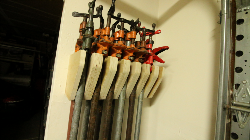 Pipe Clamp Rack