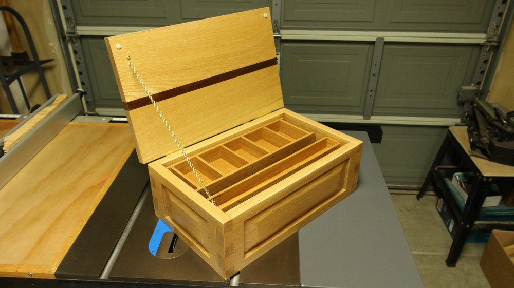 White Oak Jewelry Box