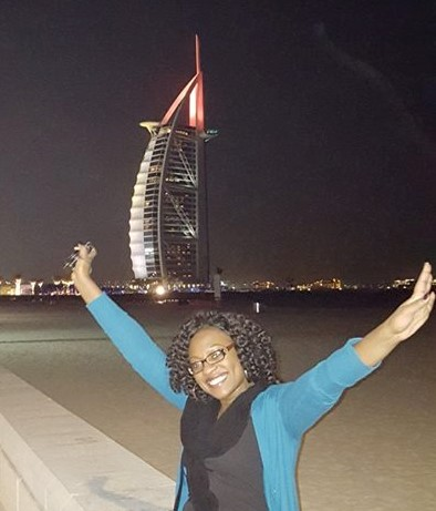 During a layover on my way to Nigeria, I took an unplanned landmark tour around Dubai - 2015