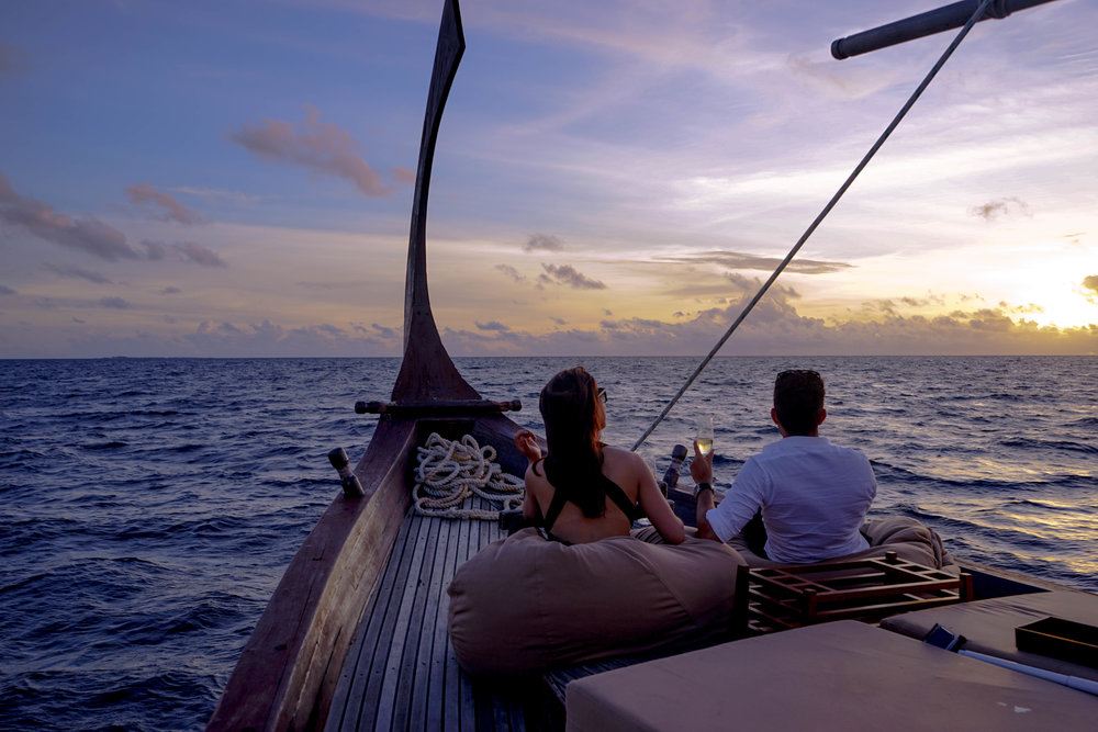 The Baros Nooma cruise takes amazing Maldivian sunsets to a whole other level.