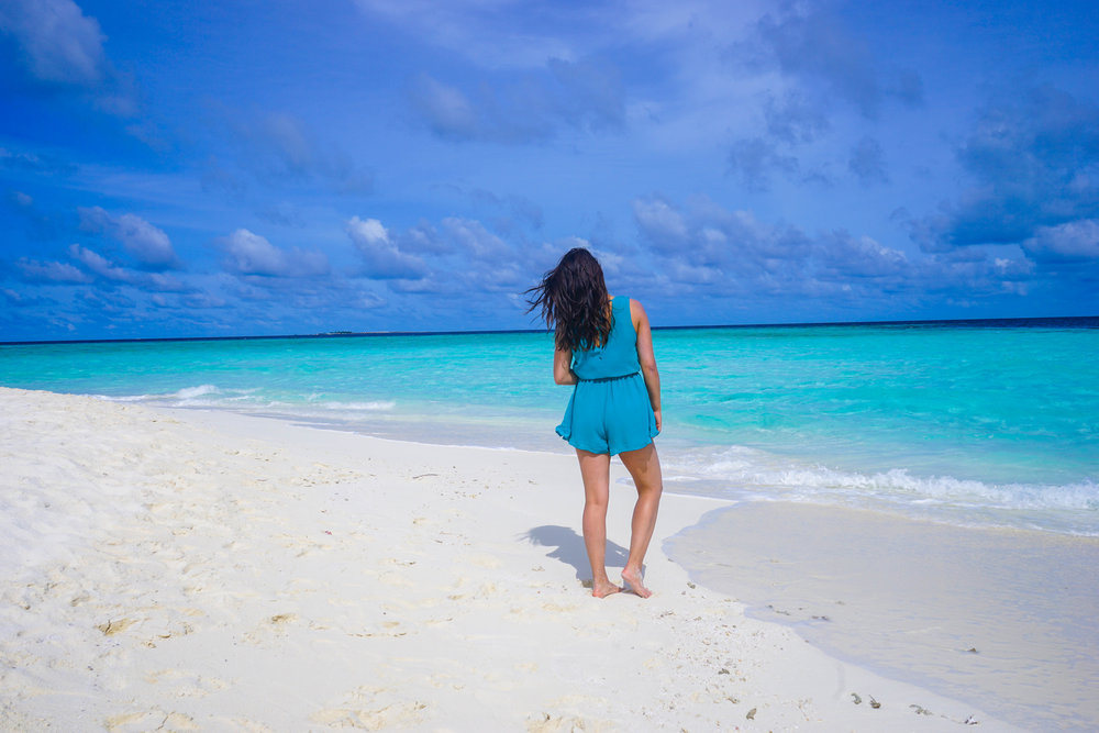 What a start to a beautiful day in the Maldives!