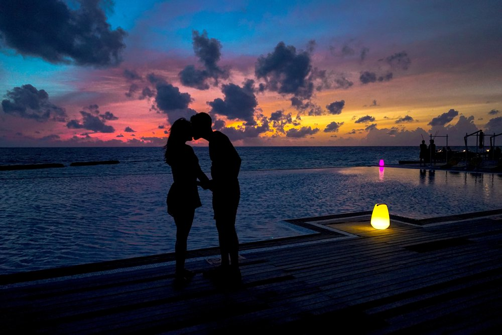 The Maldives have amazing sunsets night after night