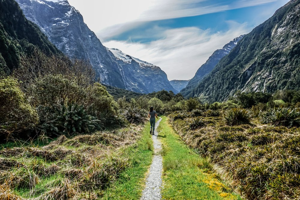 Milford Track in Fiordland