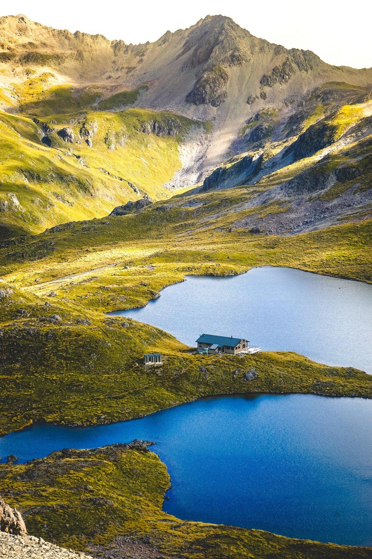 Hike to a Backcountry Hut -