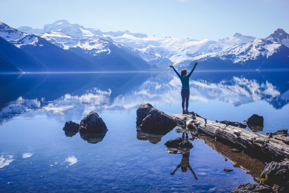 Morning at Garibaldi Lake