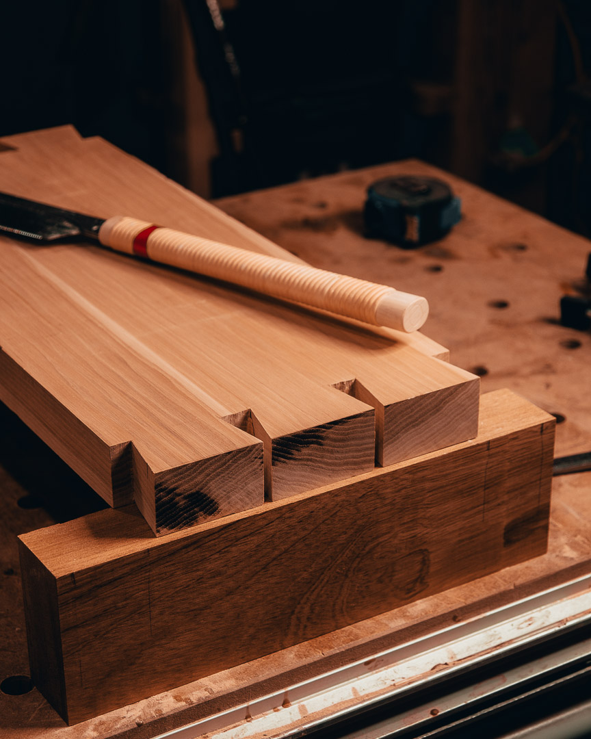 Coming Soon! - The Hickory and Jatoba Mini Workbench