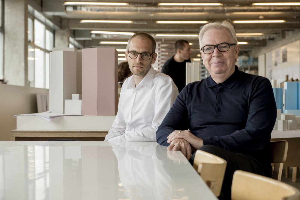 Sir David Chipperfield and Simon Kretz