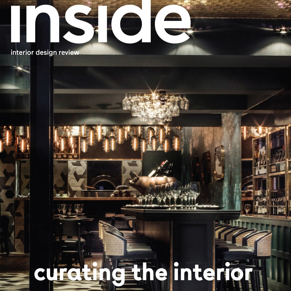 INSIDE INTERIOR DESIGN REVIEW - May–June 2017 | Issue 96'An Interior Landscape' by Michelle Bailey