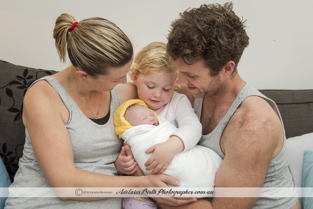 All professional photo credits go to the amazing Victoria Berekmeri from Adelaide Birth Photographer