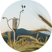 Affordable all-in-one micro-weather-stations - Sensors resistant to dirt in tough agro environments.