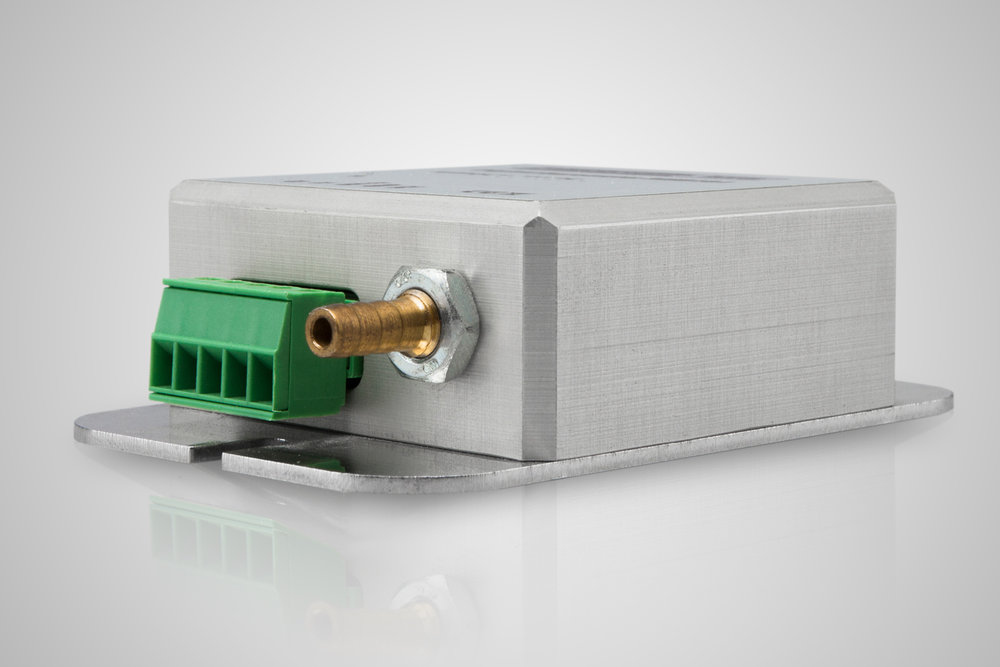 Atmospheric pressure sensor MSB181 pressure port detail