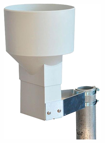 Pronamic Rain-O-Matic Professional Rain Gauge pipe mount.jpg