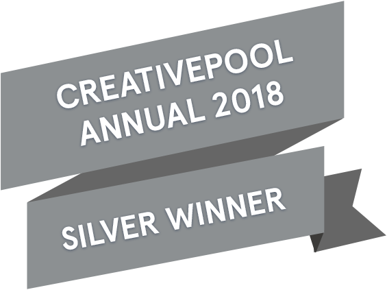Creativepool 2018 design award flag_silver.png