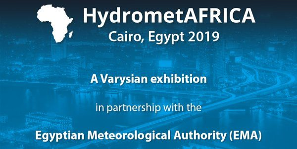 Hydromet AFRICA meteorological exhibition organized by Varysian in partnership with the Egyptian Meteorological Authority (EMA)