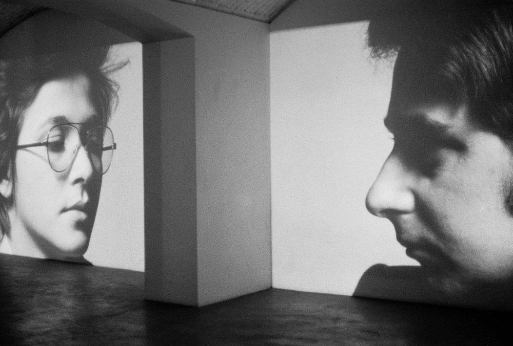 James Coleman. Clara and Dario. 1975. © James Coleman. Courtesy the artist