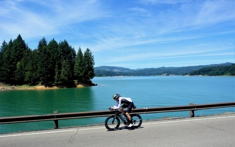Athletes compete in Hagg Lake ultra-triathlon  By Holly Bartholomew  ...Four of the five racers in the single anvil completed the 140.6 total miles of the race. Will Turner of Richmond, Va., was the top finisher with a time of 16 hours, 42 minutes and 48 seconds.