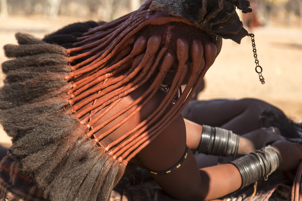 Traditional Himba Lady