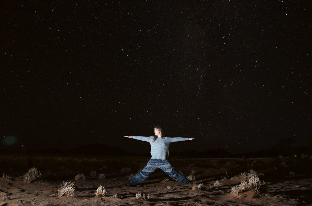 Sossusvlei night sky