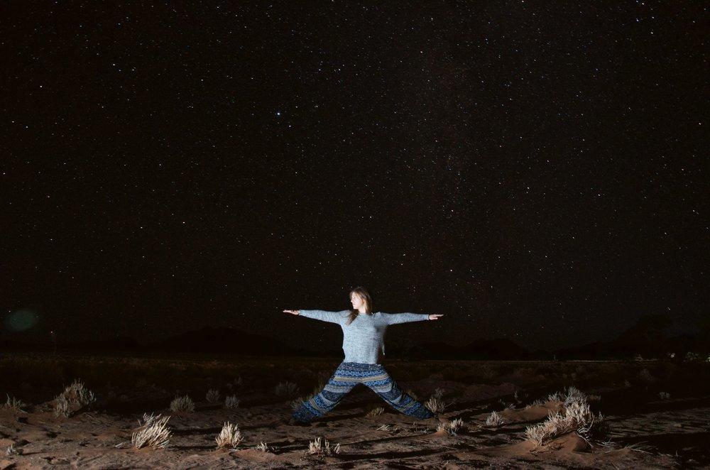 Sossusvlei night sky